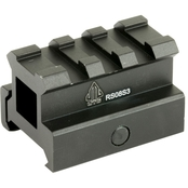 UTG Med-pro Compact Riser Mount, 0.83 in. High, 3 Slots