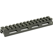 UTG Super Slim Picatinny Riser Mount, 0.5 in. Height, 13 Slots