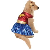 Rubie's Costume Wonder Woman Deluxe Dog Costume