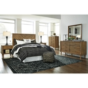 Signature Design by Ashley Broshtan Panel Headboard 5 pc. Set