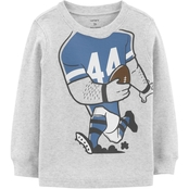 Carter's Toddler Boys Football Player Costume Thermal Tee