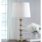 Signature Design by Ashley Genevieve Metal Table Lamp 2 pk.