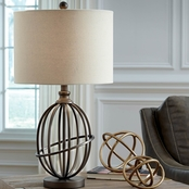 Signature Design by Ashley Manasa Metal Table Lamp