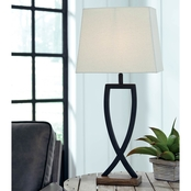 Signature Design by Ashley Makara Metal Table Lamp 2 pk
