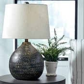 Signature Design by Ashley Maire 24.25 in. Metal Table Lamp