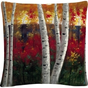Trademark Fine Art Rio Autumn Decorative Throw Pillow