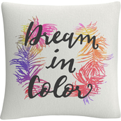 Trademark Fine Art Dream in Color Decorative Throw Pillow