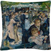 Trademark Fine Art Pierre Renoir Le Moulin De La Galette Decorative Throw Pillow