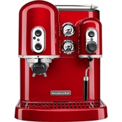 KitchenAid Pro Line Series Espresso Maker with Dual Independent Boilers, Onyx Black