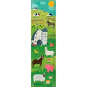 GreenBox Art Growth Chart, Summer On The Farm 12 x 42