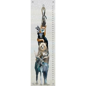 GreenBox Art Growth Chart, Woodland Buddies 12x42