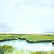 GreenBox Art Canvas Marshland 21 x 21