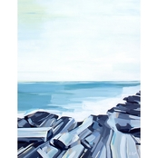 GreenBox Art Canvas Pemaquid Rocks 24 x 30