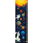GreenBox Art Growth Chart, Deep Space Solar System 12x42