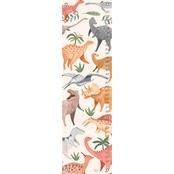 GreenBox Art Growth Chart, Dino World 12x42