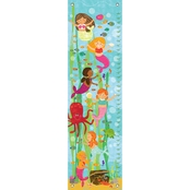 GreenBox Art Growth Chart Mermaid Mingle and Play 12x42