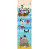 GreenBox Art Growth Chart Swashbuckling Good Time 12x42