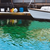 GreenBox Art Canvas Old Port 18 x 18