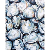 GreenBox Art Canvas Clams 14 x 18