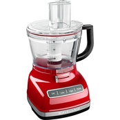 KitchenAid 14 cup Food Processor with Commercial Style Dicing Kit, Empire Red