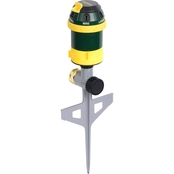 Melnor 6 Pattern Rotary Sprinkler with Step Spike