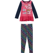 Care Bears Toddler Girls 2 pc. Pajama Set