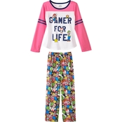 Nintendo Mario Girls Pajama Set