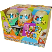 Happy Van Toy with Candy 12 pk.