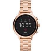 Fossil Women's Q Venture HR Stainless Steel Gen 4 Smartwatch