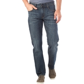 Axel Slim Straight Stretch Denim Jeans