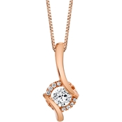 Sirena 14K Rose Gold 1/5 CTW Diamond Pendant