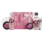 The Body Shop British Rose Premium Collection 6 pc. Bath & Body Gift Set