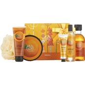 The Body Shop Satsuma Premium Collection Bath and Body 6 pc. Gift Set