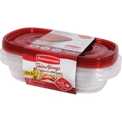 Rubbermaid Rectangle TakeAlongs, 3 pk.