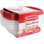 Rubbermaid Square Takealongs 4 pk.