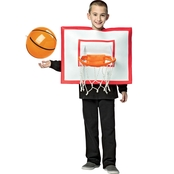 Rasta Imposta Kids Basketball Hoop and Ball Costume, Medium (7-10)