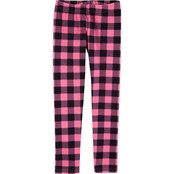 Carter's Little Girls Plaid Leggings