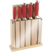 Classic Cuisine Cutting Board Knife Block Set