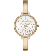 Michael Kors Women's Jaryn 3 Hand Stainless Steel Watch
