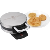 Classic Mickey Mouse Stainless Steel Waffle Maker