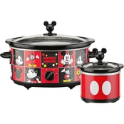 Mickey Mouse 5 qt. Slow Cooker with 20 oz. Dipper