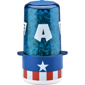 Captain America Mini Stir Popcorn Popper