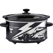 Disney Pixar Cars 3 Oval 4 qt. Slow Cooker
