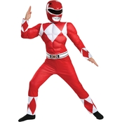 Disguise Ltd. Little Boys / Boys Red Ranger Classic Muscle Costume