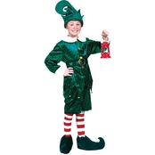 Kids Holly Jolly Elf Costume