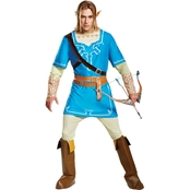 Disguise Ltd. Men's Link Breath Of The Wild Deluxe Costume