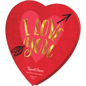 Russell Stover Assorted Chocolates I Love You Heart 14 oz.