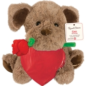 Russell Stover Assorted Chocolates Coco Plush Heart 3.5 oz.