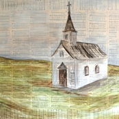 Greenbox Art 14 x 14 Church On Hill Canvas Wall Art