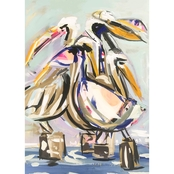 GreenBox Art Pelican Pod Canvas Wall Art 18 x 24